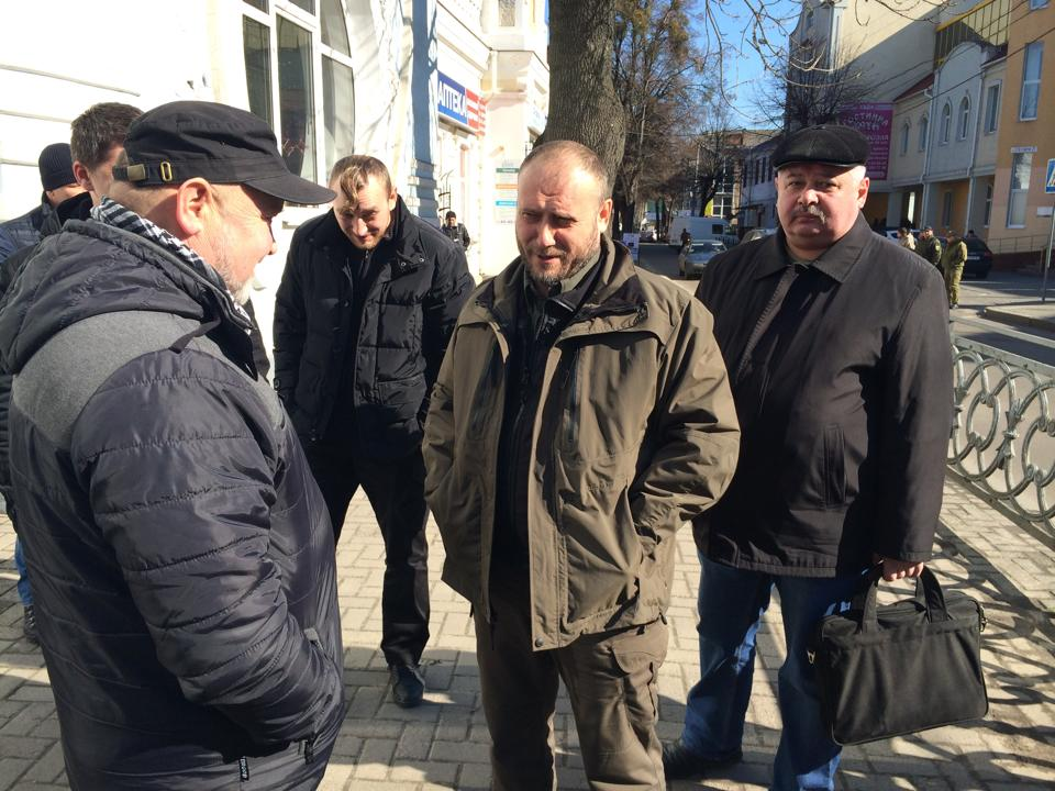 Дмитро Ярош відвідав Рівне
