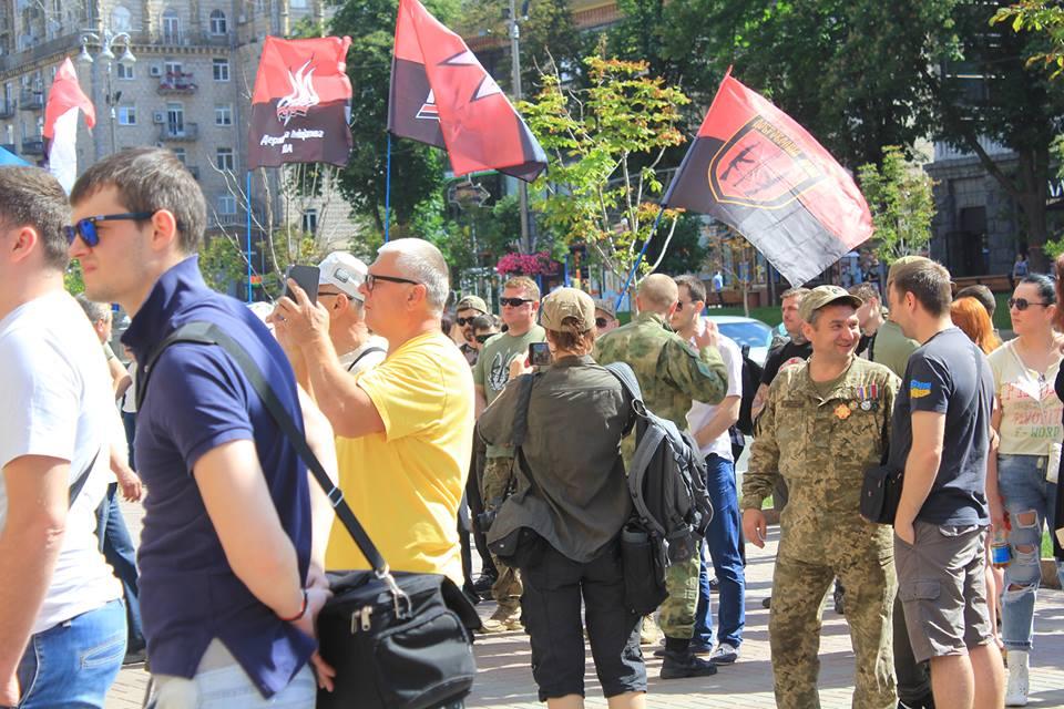 Добровольців у Києві визнали!