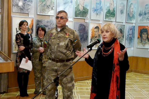 портрети добровольців на війні