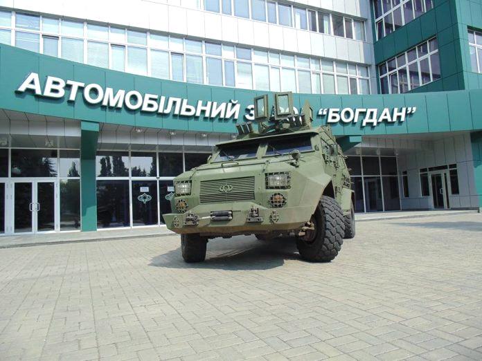 Броньований автомобіль БАРС-8
