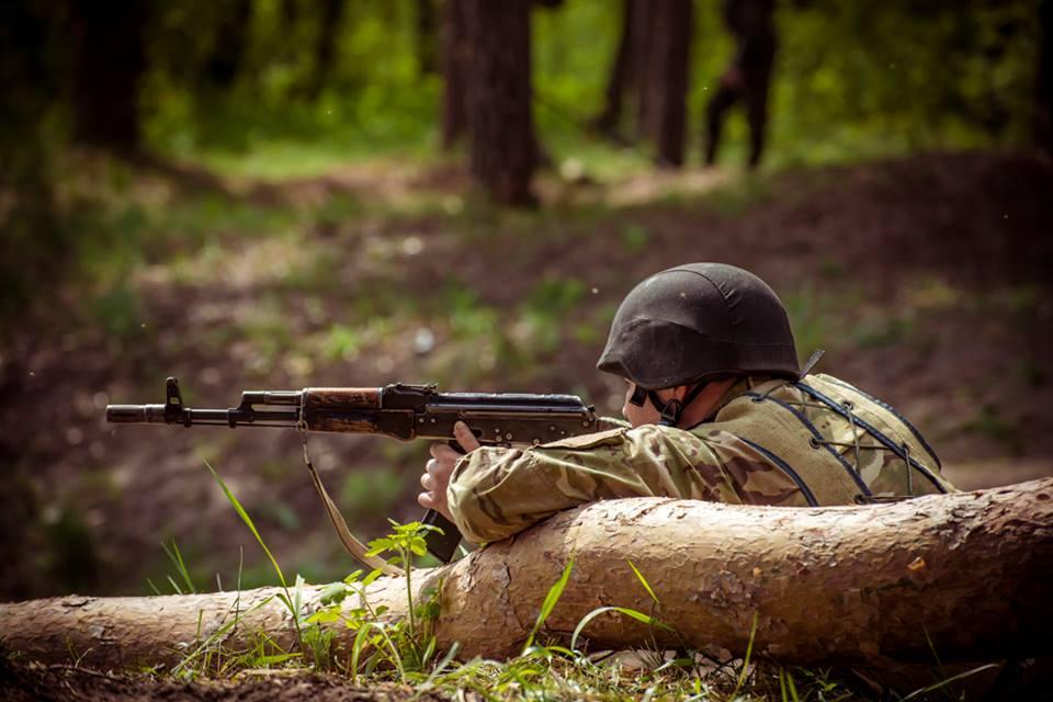 Тренування штурмової роти . Фото: Ігор Іваровський