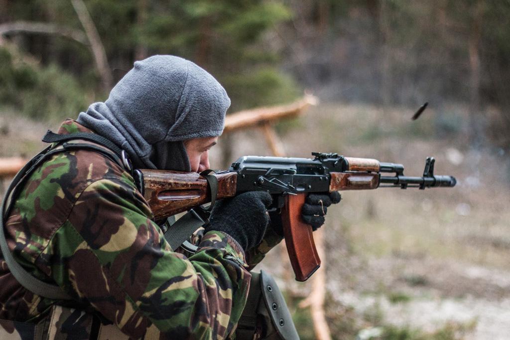 Фотографії з полігона 5 батальону ДУК