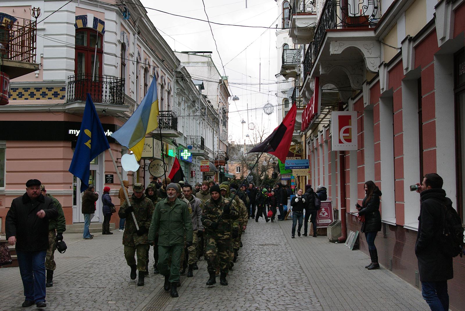 Фотозвіт з акції у Тернополі